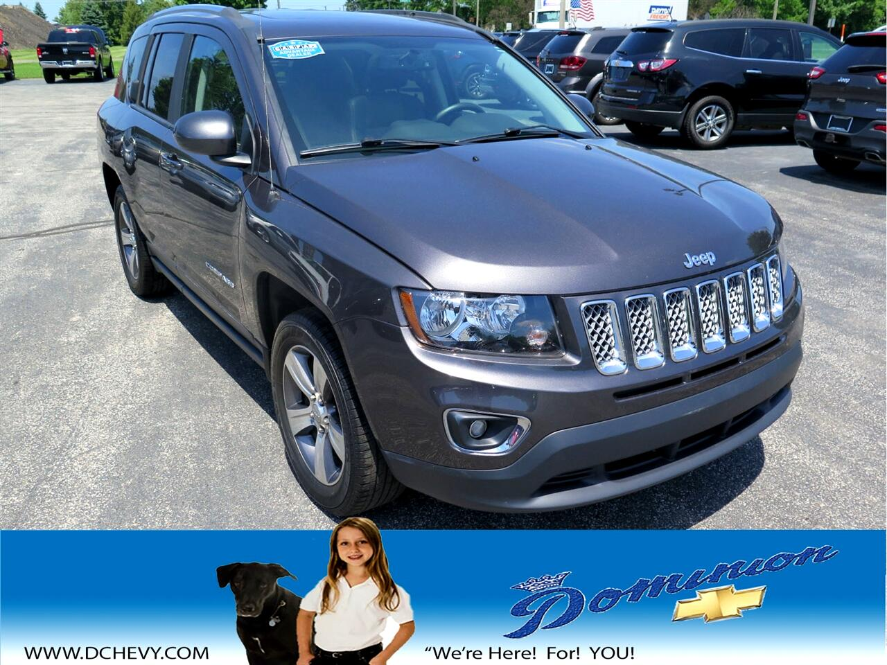 Jeep Compass Latitude 4WD 2017
