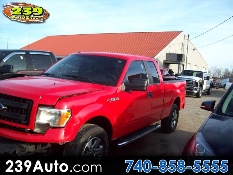 """2013 Ford F-150 4WD SuperCab 145"""" Lariat"""