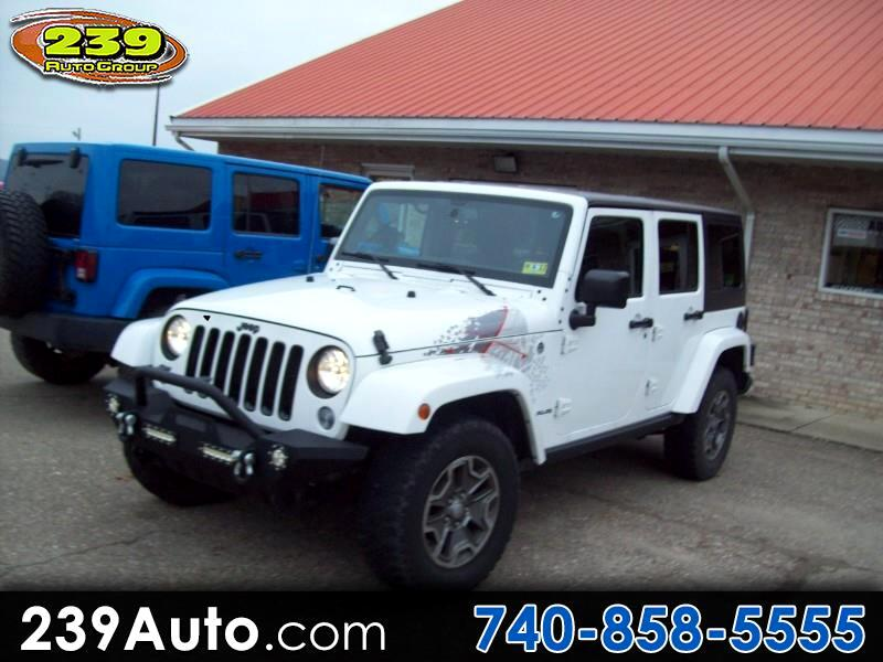 2016 Jeep Wrangler Unlimited 4WD 4dr Backcountry *Ltd Avail*