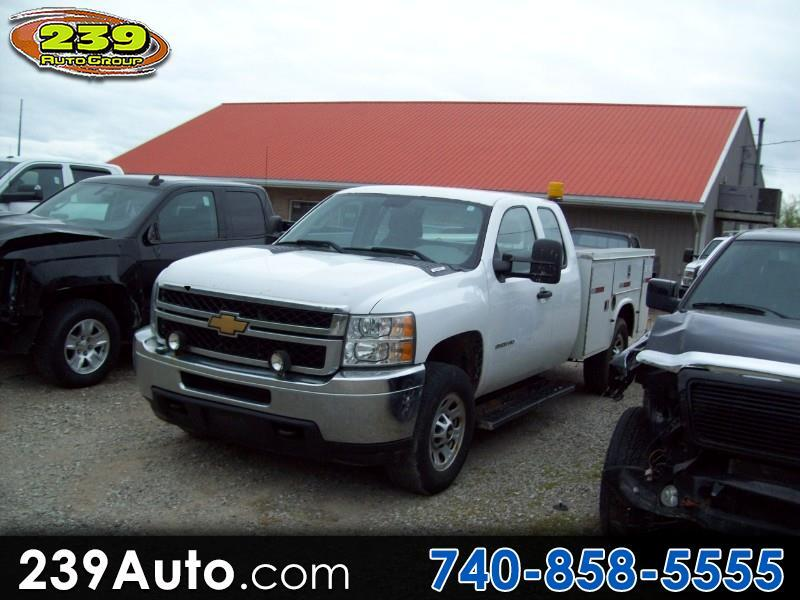 "2012 Chevrolet Silverado 3500HD 4WD Ext Cab 158.2"" Work Truck"