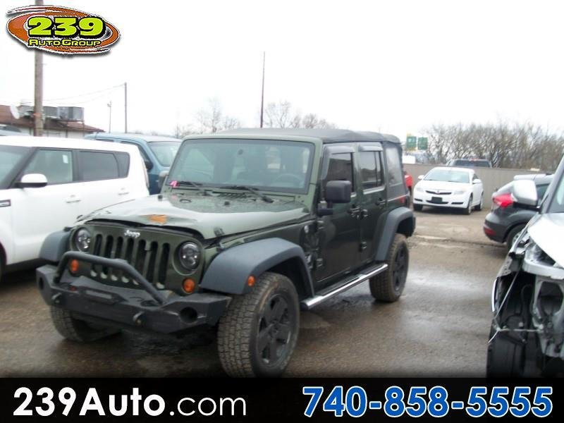 Jeep Wrangler 4WD 4dr Unlimited X 2007