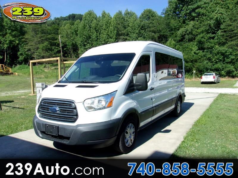 "Ford Transit Wagon T-350 148"" Med Roof XLT Sliding RH Dr 2015"