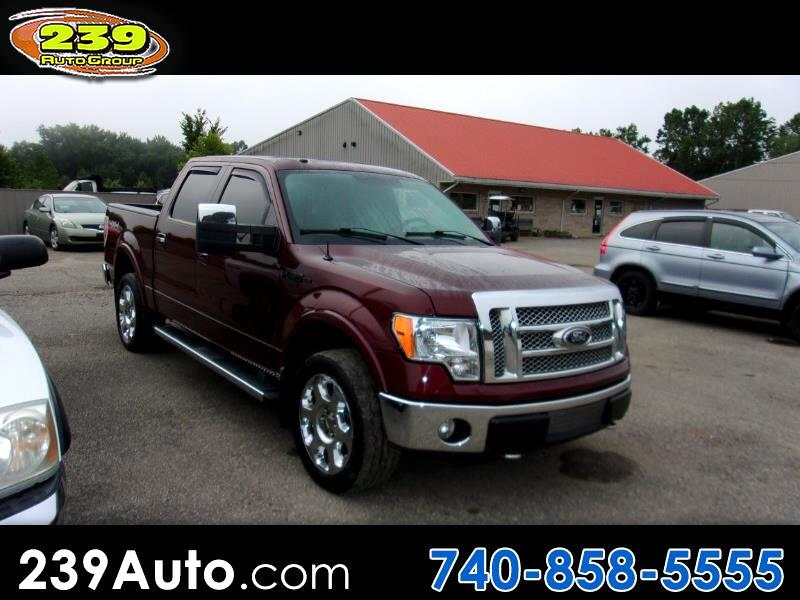 "Ford F-150 4WD SuperCrew 157"" Lariat 2010"