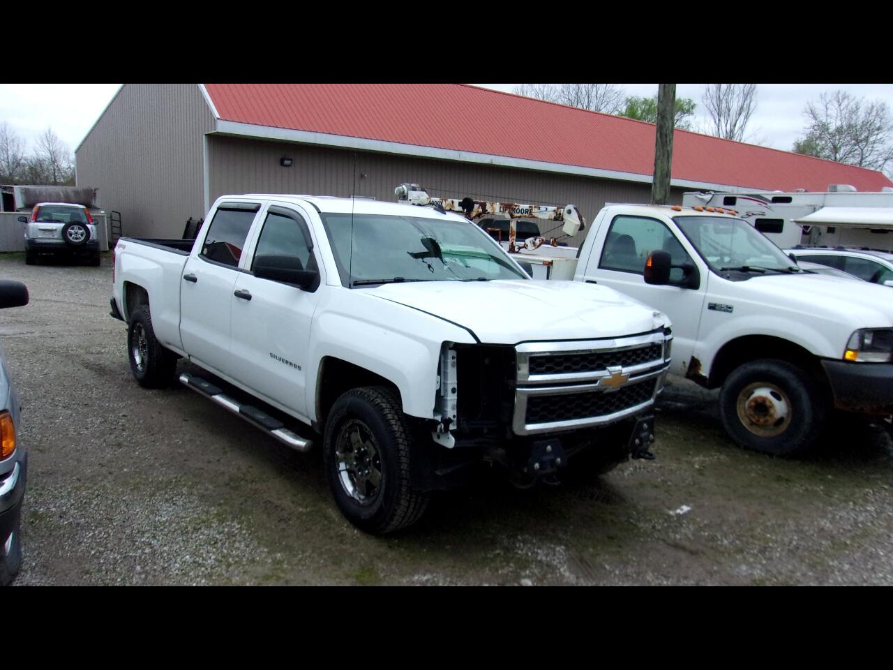 """Chevrolet Silverado 1500 4WD Crew Cab 153.0"""" Work Truck w/2WT 2014"""