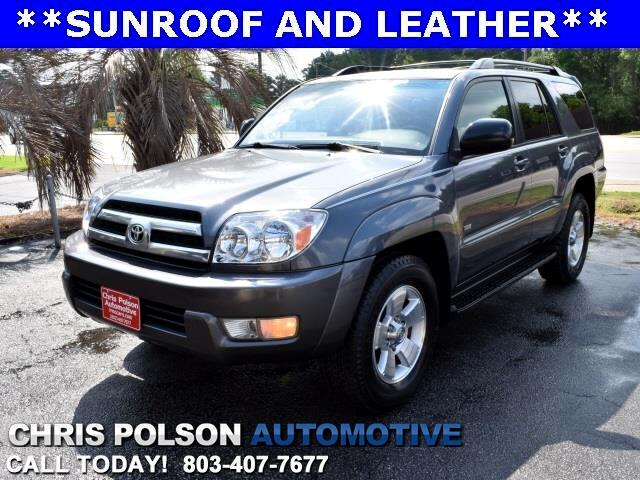 2005 Toyota 4Runner SR5 SUNROOF LEATHER