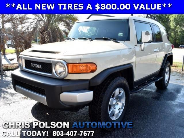 2008 Toyota FJ Cruiser 4x4 Upgrade #2 & Convenience Packages