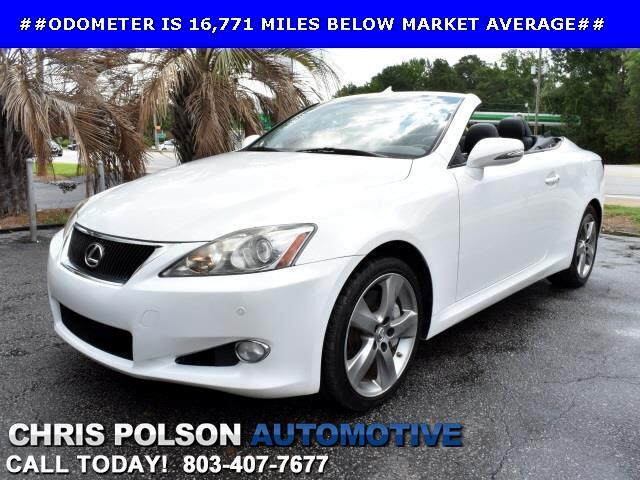 2010 Lexus IS C 350 C