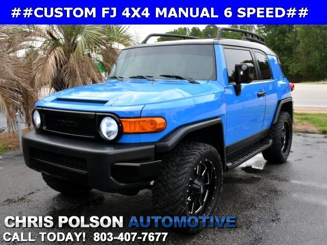 2007 Toyota FJ Cruiser CUSTOM 4x4 6 SPEED MANUAL
