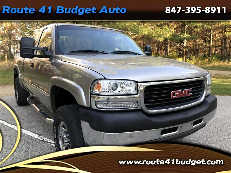 2001 GMC Sierra 2500HD SL Ext. Cab Long Bed 4WD