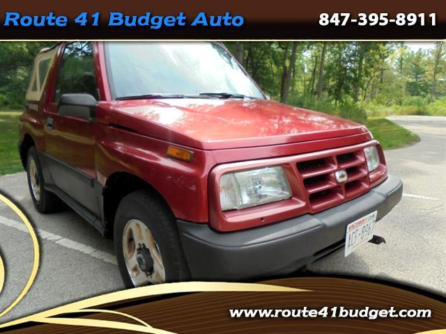 1998 Chevrolet Tracker 2-Door 4WD