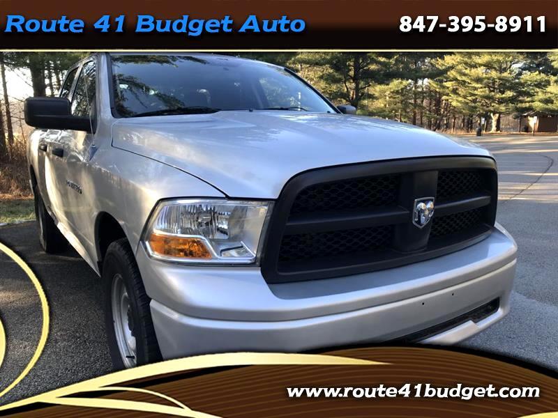 2012 Dodge 1500 ST Quad Cab 4WD
