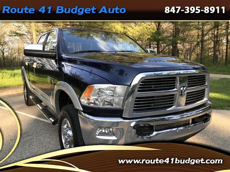 2012 Dodge 3500 Laramie Crew Cab SWB 4WD