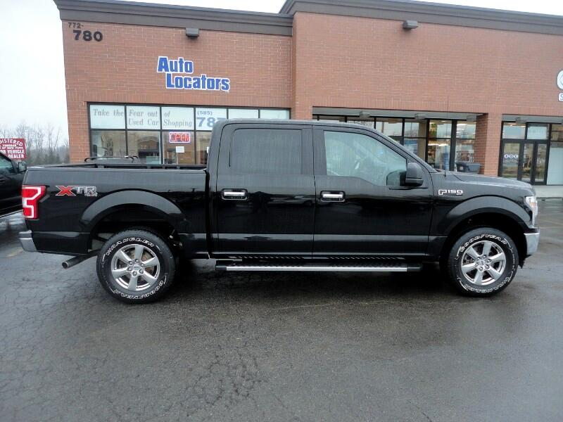 "Ford F-150 4WD SuperCrew 145"" XLT 2018"