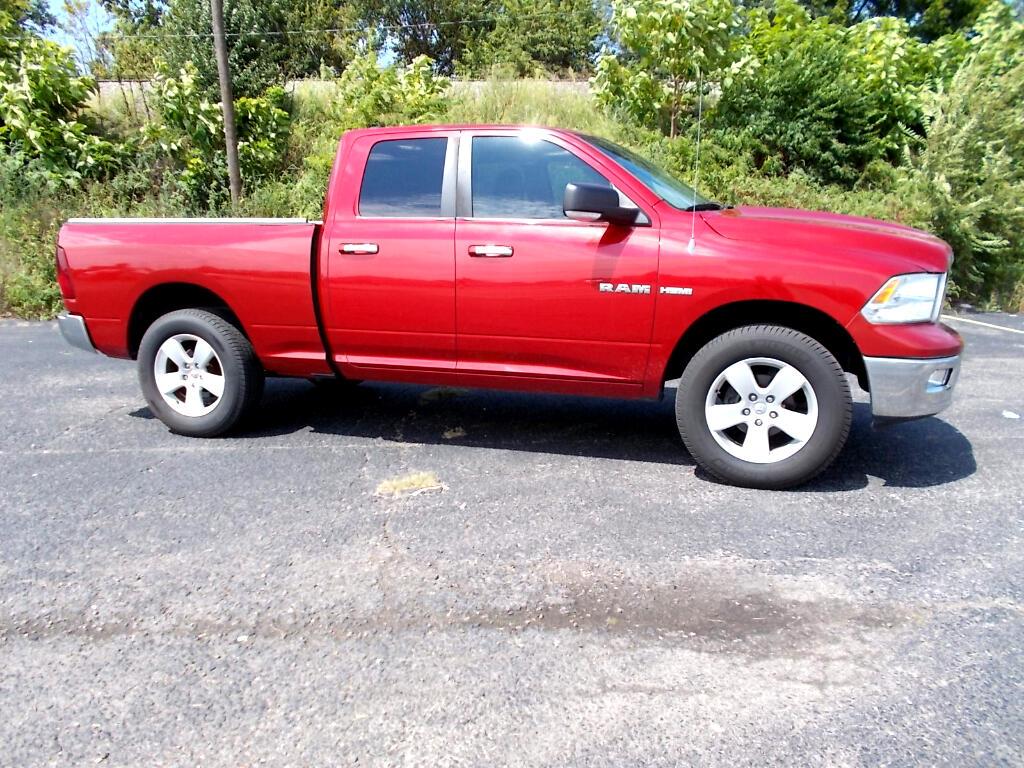2010 RAM 1500 BIG HORN QUAD CAB 4WD
