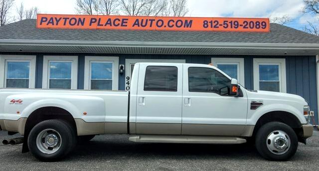 Ford F-350 SD FX4 Crew Cab Long Bed DRW 2008
