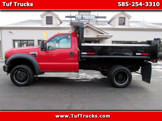 2009 Ford F-450 SD Regular Cab 4WD DRW Dump Truck