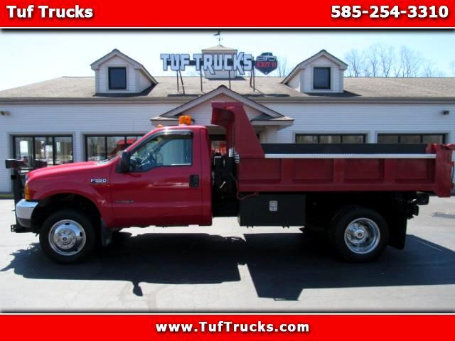 1999 Ford F-550 Regular Cab 4WD Dump Truck