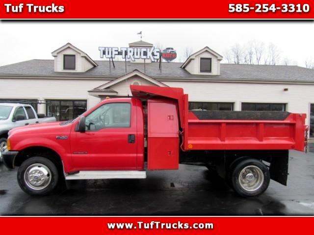 2000 Ford F-450 SD Regular Cab Dump Diesel 7.3L