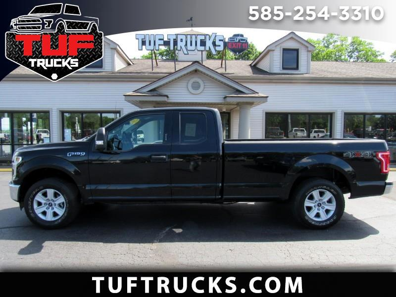 2017 Ford F-150 XLT SuperCab 8-ft. Bed 4WD