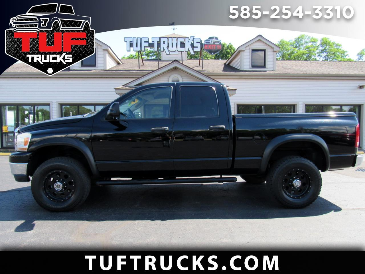 Dodge Ram 3500 TRX4 Off Road Quad Cab 4WD 2006