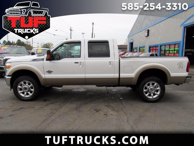 2014 Ford F-350 SD Lariat Crew Cab 4WD DIESEL