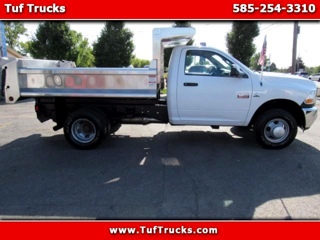 2011 Dodge Ram 3500 Regular Cab Dual Rear Wheel 4WD Dump Truck