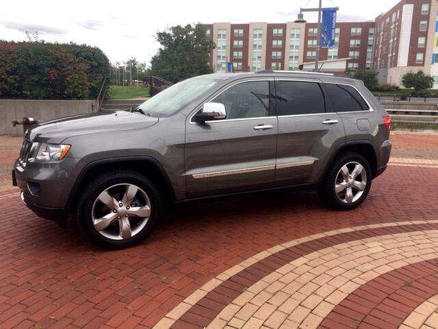2012 Jeep Grand Cherokee Overland 4WD