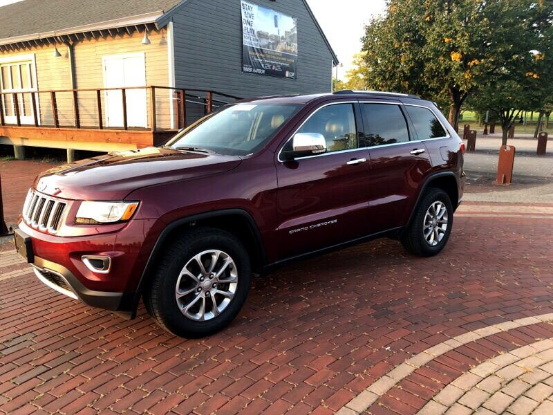 Jeep Grand Cherokee 4dr Limited 4WD 2016