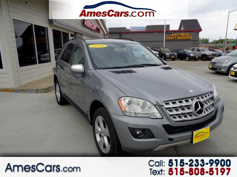 2010 Mercedes-Benz M-Class 4MATIC 4dr ML 350 BlueTEC