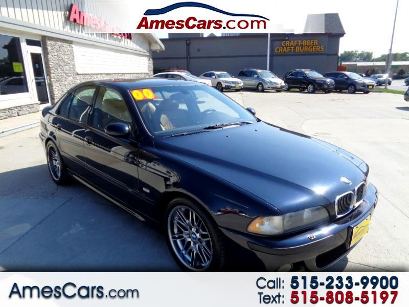 2000 BMW 5 Series M5 4dr Sdn 6-Spd Manual
