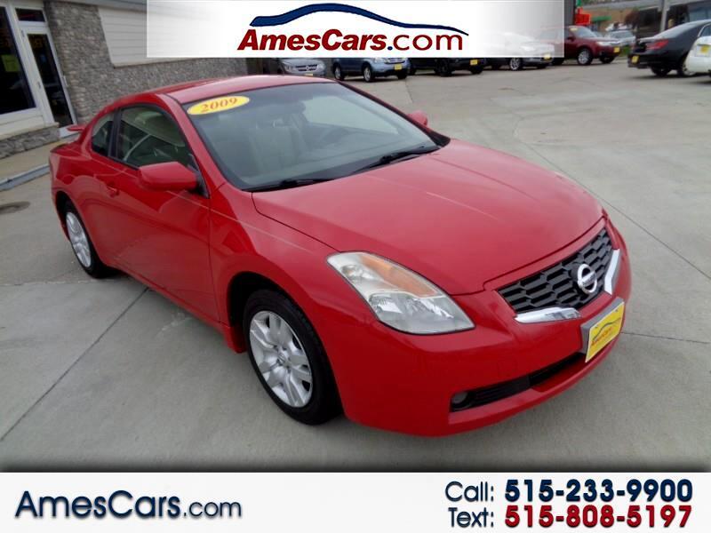 2009 Nissan Altima 2dr Cpe I4 Man 2.5 S
