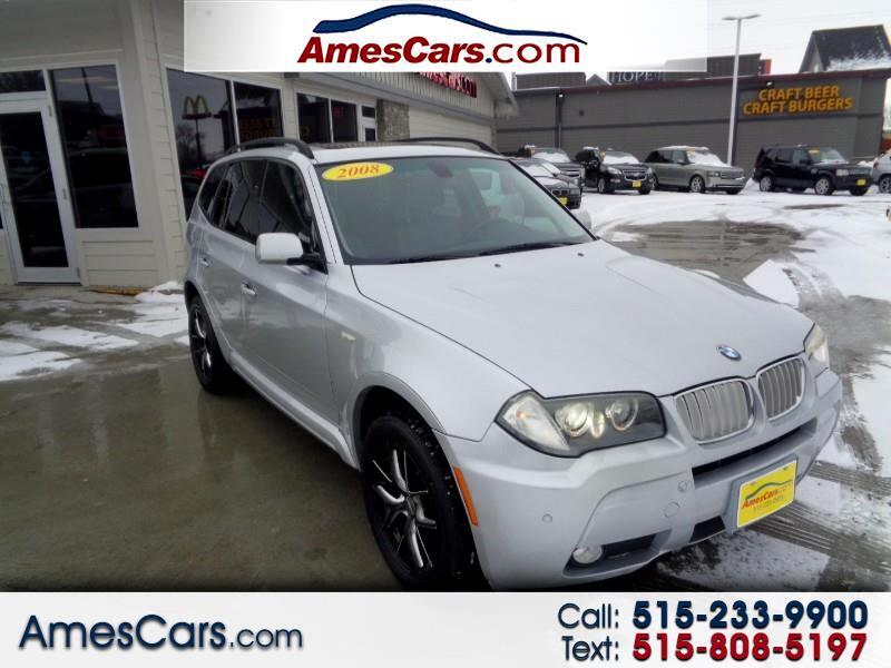 BMW X3 AWD 4dr 3.0si 2008