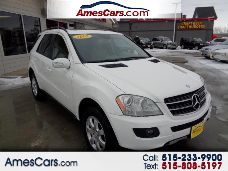 used 2007 mercedes benz m class 4matic 4dr 3 5l for sale in ames ia 50010 amescars amescars