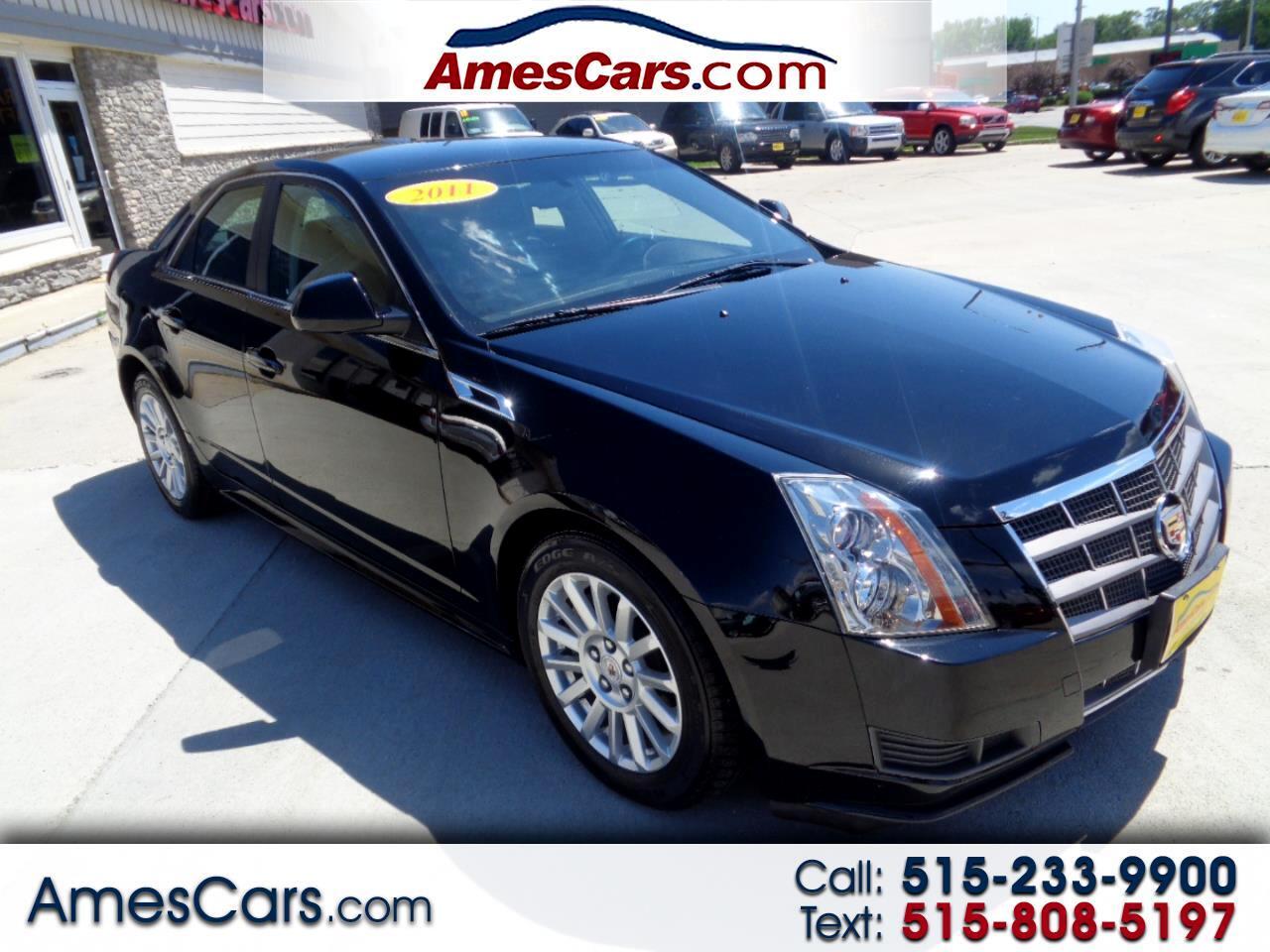 Cadillac CTS Sedan 4dr Sdn 3.0L RWD 2011
