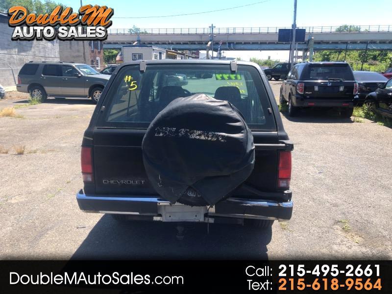 Chevrolet S10 Blazer 2-Door 4WD 1993
