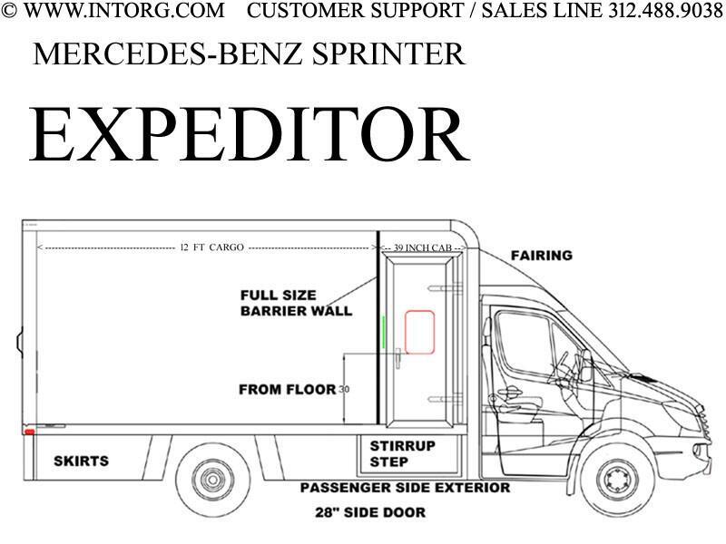 "Mercedes-Benz Sprinter Van 3500XD High Roof V6 170"" Extended RWD 2019"