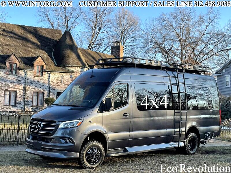 """Mercedes-Benz Sprinter Van 3500XD High Roof V6 170"""" Extended 4WD 2021"""