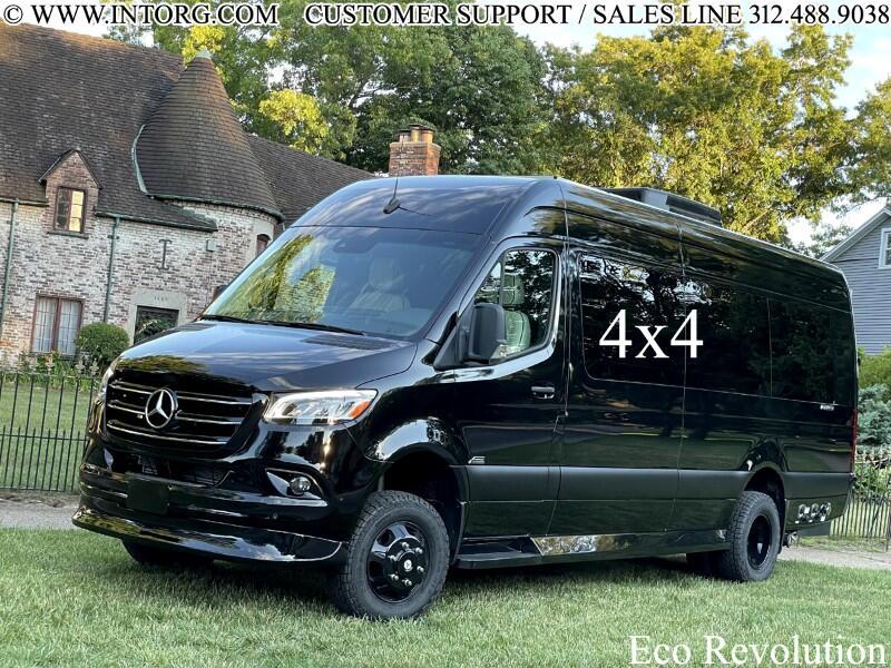 """Mercedes-Benz Sprinter Van 3500XD High Roof V6 170"""" Extended 4WD 2022"""