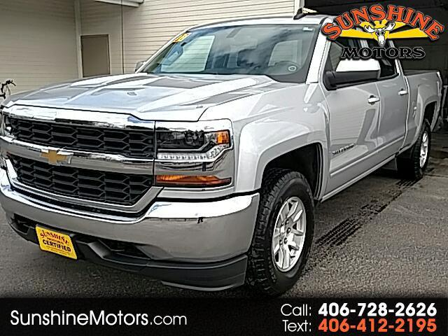 2017 Chevrolet Silverado 1500 1LT Crew Cab Long Box 4WD