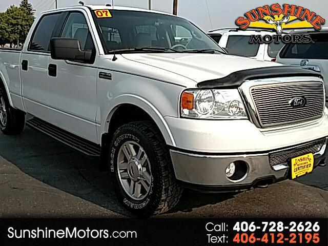"2007 Ford F-150 4WD SuperCrew 157"" Lariat"