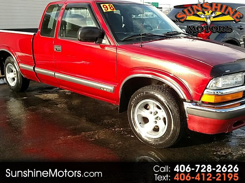 1998 Chevrolet S10 Pickup LS Ext. Cab 2WD