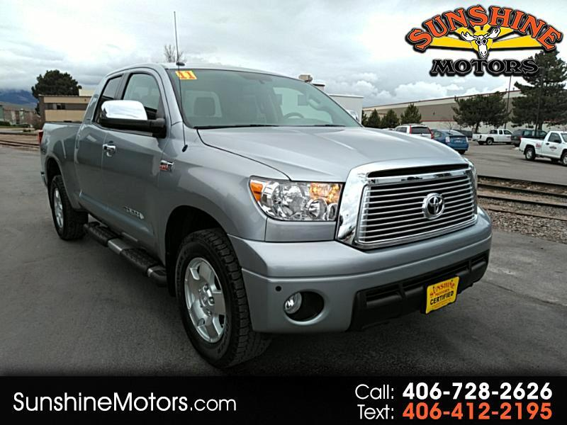 2011 Toyota Tundra Limited 5.7L Double Cab 4WD