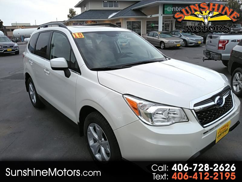 2015 Subaru Forester 2.5X Limited with Navigation