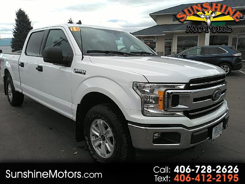 Ford F-150 XLT SuperCrew 6.5-ft Box 4WD 2019