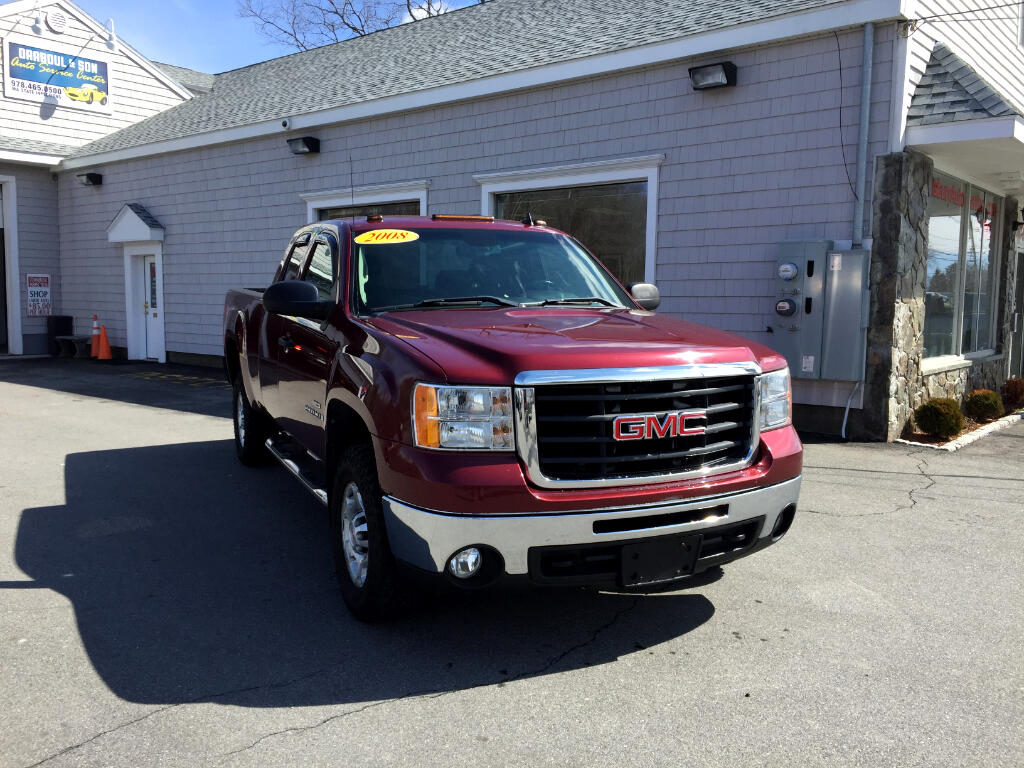2008 GMC Sierra 2500HD SLE1 Ext. Cab Std. Box 4WD