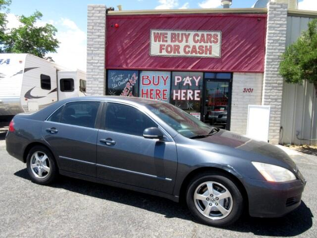 2007 Honda Accord Hybrid 5-Speed AT with Navigation System