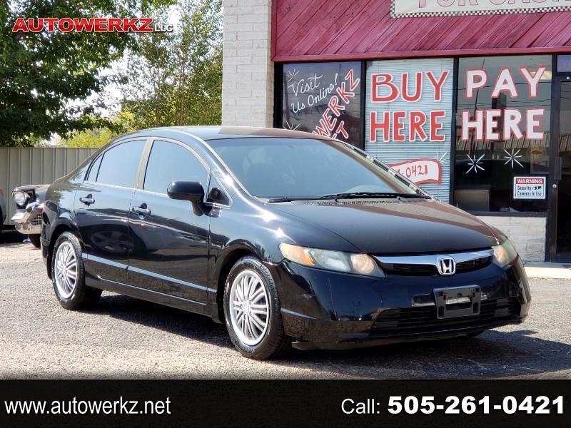 Honda Civic LX Sedan AT 2008