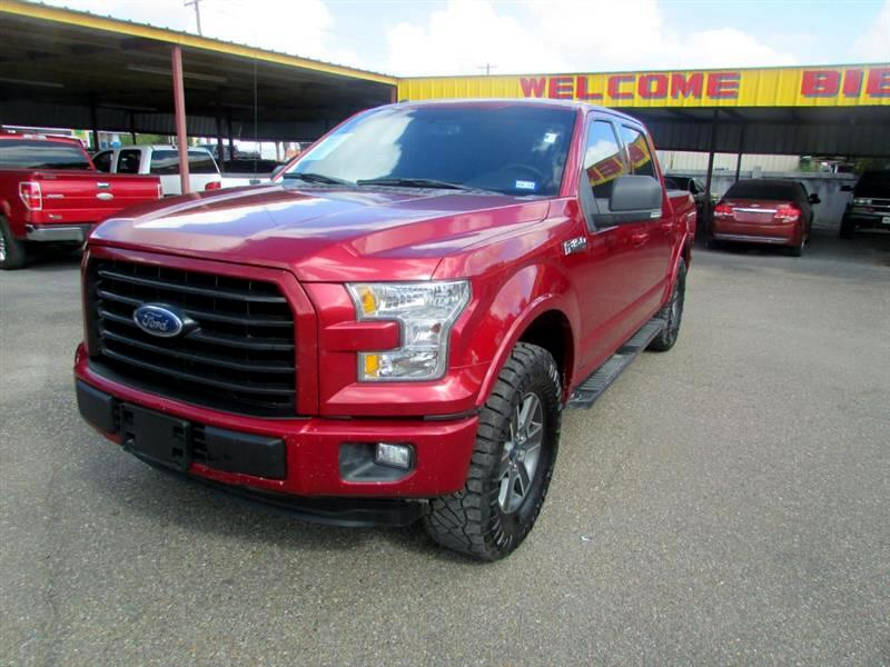"2016 Ford F-150 2WD SuperCrew 157"" XL"