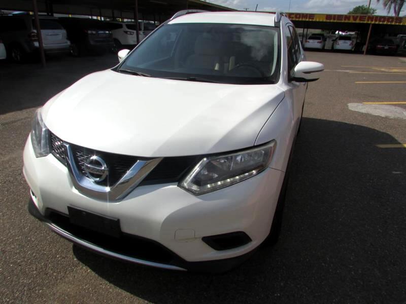 Nissan Rogue FWD 4dr SV 2016