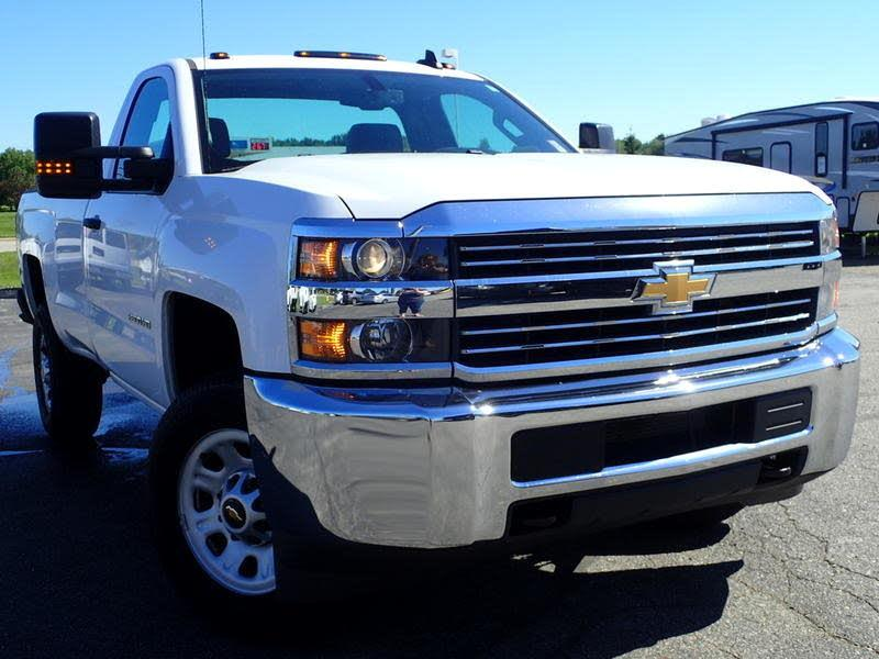 """2016 Chevrolet Silverado 2500HD 4WD Reg Cab 133.6"""" Work Truck"""